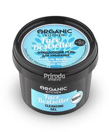 Гель для умывания очищающий Face Bestseller Organic Kitchen, 100 мл
