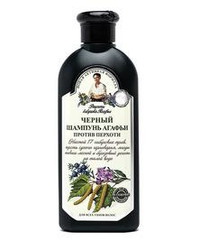 Шампунь черный против перхоти, Рецепты бабушки Агафьи, 350мл