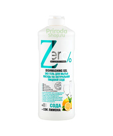 Эко-гель для мытья посуды на натуральной пищевой соде, 500 мл