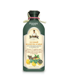 Особый шампунь Агафьи против выпадения волос, Рецепты бабушки Агафьи, 350 мл