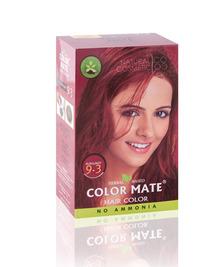 Травяная краска для волос на основе хны COLOR MATE, тон 9.3, 75 г