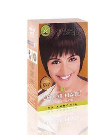 Травяная краска для волос на основе хны COLOR MATE, тон 9.7, 75 г