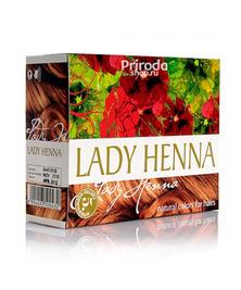 Краска для волос на основе хны Светло-коричневая Леди Хенна, 60 г