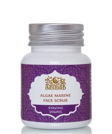 Скраб для лица Морские водоросли, Algae Marine Face Scrub Indibird, 50 г