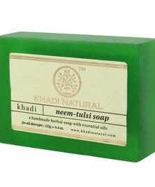 Аюрведическое мыло Ним с тулси Khadi, 125 г