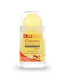 Минеральный дезодорант стик ДеоНат с экстрактом куркумы, 80 г