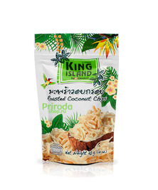 Натуральные 100% кокосовые чипсы, 40 г