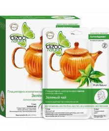 Маска для лица и шеи Зеленый чай Dizao, 1 шт