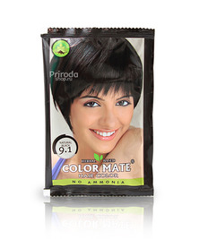 Травяная краска для волос на основе хны COLOR MATE, тон 9.1, 15 г