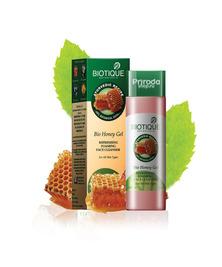 Гель для умывания с медом для всех типов кожи Bio Honey Biotique, 120 мл
