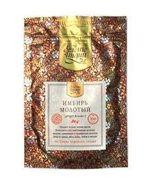 Имбирь молотый, Dry Ginger Powder Золото Индии, 30 г