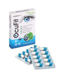 Комплекс для глазс черникой OcuFit Dobrovit, 20 капсул