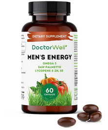 Комплекс для мужчин Men's Energy DoctorWell, 60 капс