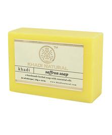 Аюрведическое мыло с Шафраном Khadi, 125 г
