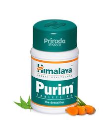 Пурим (Для здоровья кожи), Purim Himalaya Herbals, 60 таб