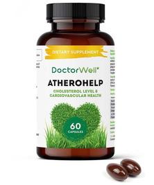 Комплекс для сердца и сосудов с Омега 3-6-9 и пустырником Atherohelp DoctorWell, 60 капс