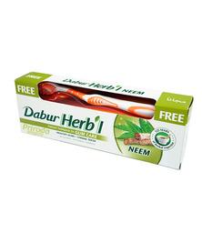 Зубная паста Dabur Herbl Neem (с щеткой), 150 г